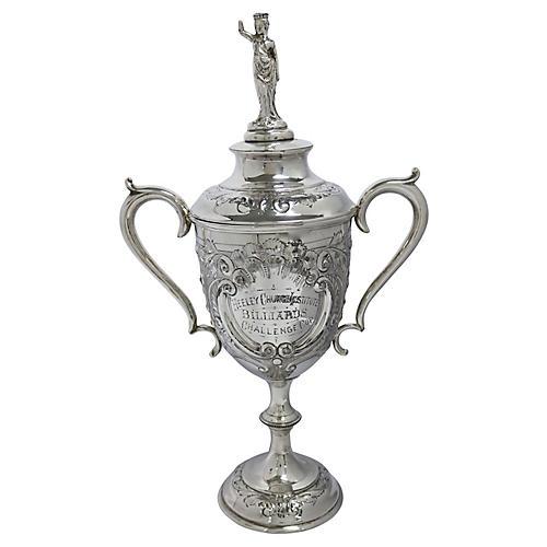 English Silver-Plate Billards Trophy