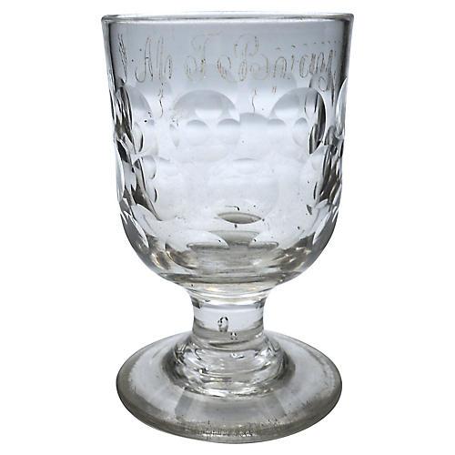 Georgian Whisky Goblet, C. 1800