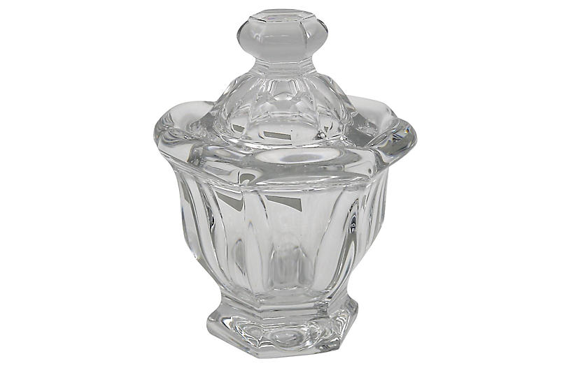 Baccarat Crystal Preserves Jar