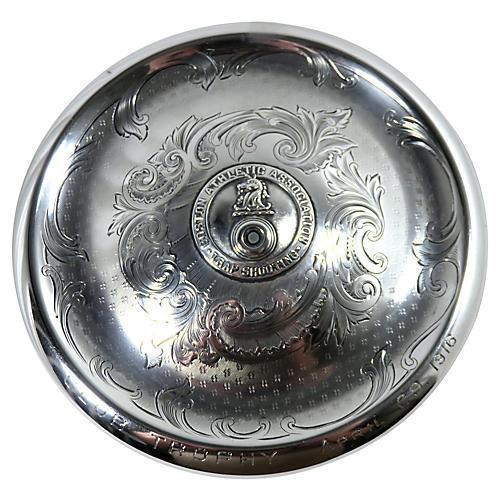 1916 Sterling Silver Tobacco Jar