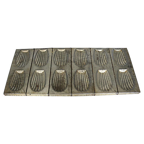French Madeleine Pastry Baking Mold