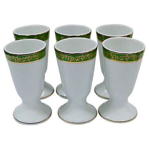 Limoges Cafè Au Lait Cups, S/6