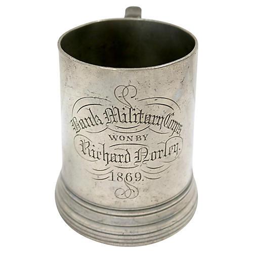 1869 Military Corps Trophy Tankard Mug
