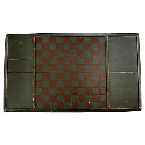 Antique New England Game Board