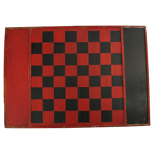 Antique Game Board From Maine