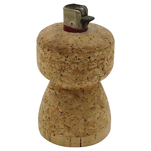 Mercier Champagne Cork Lighter Holder