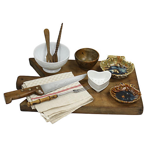French Charcuterie Set, 11 Pcs
