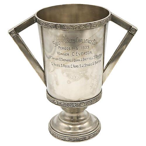 1939 Art Deco English Football Trophy