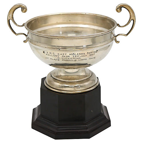 1967 English Silver-Plate Racing Trophy