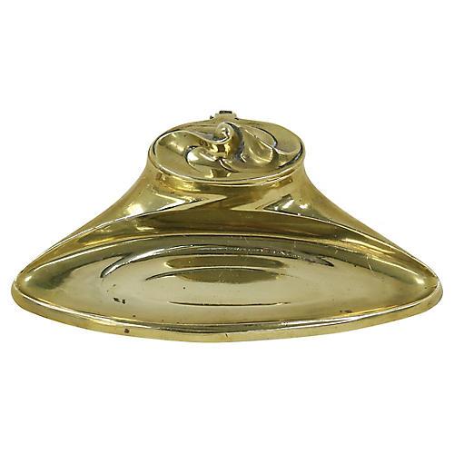 Bradley & Hubbard Art Nouveau Inkwell