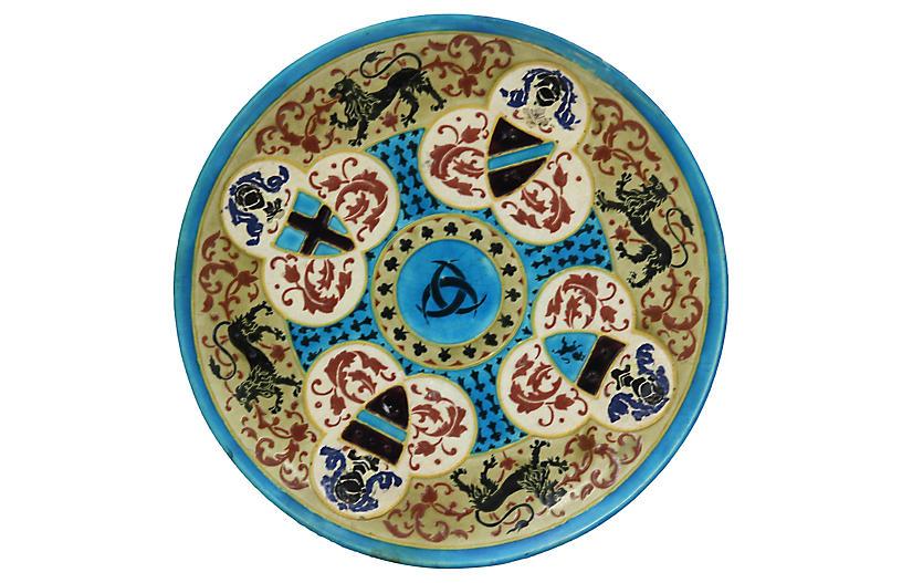 French Jules Viellard Bordeaux Plate