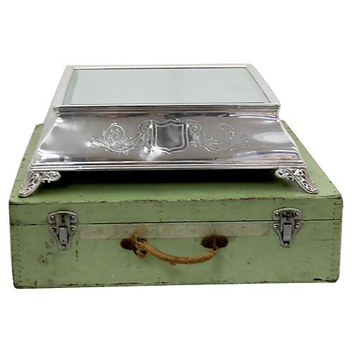 Antique English Wedding Cake Stand w/Box