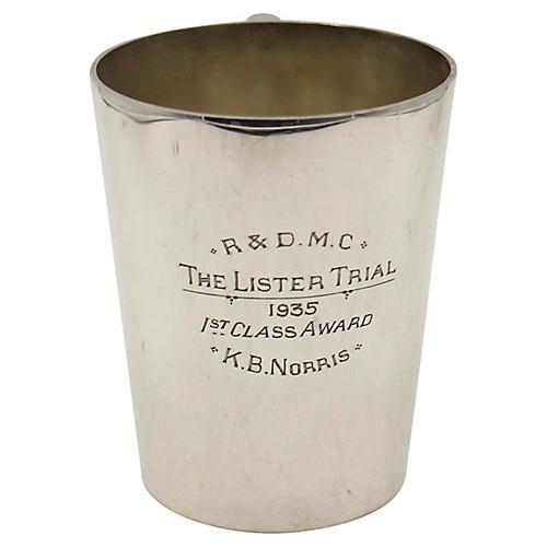 1935 Motorcycle Club Trophy Pint Mug
