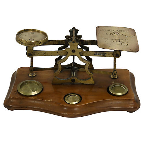 Antique English Postal Scale