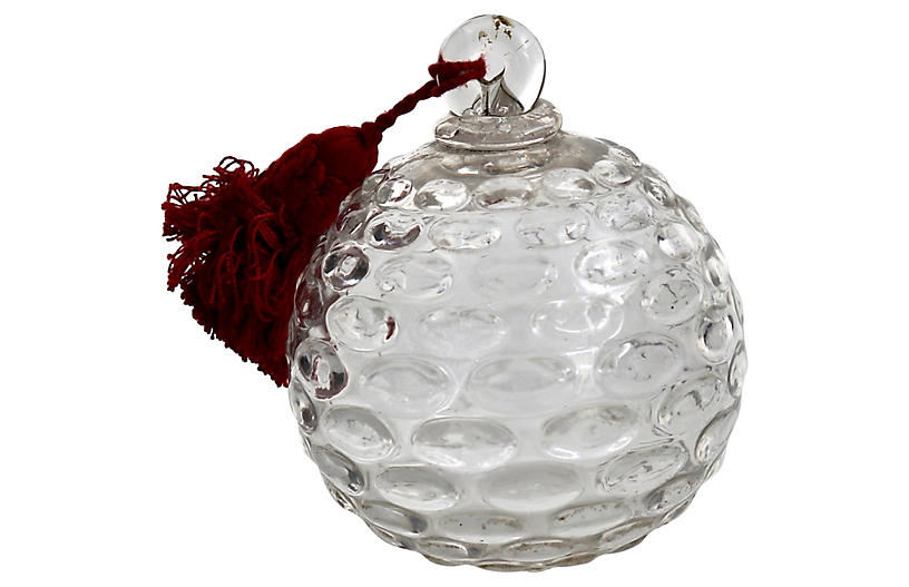 Antique French Chandelier Orb