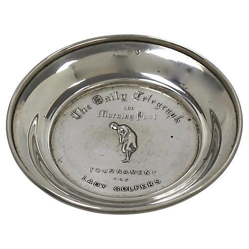 Daily Telegraph Ladies Golf Trophy Dish