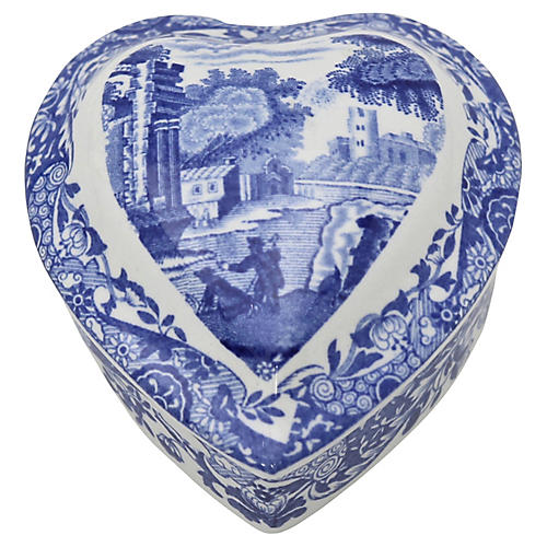 Spode Italian Sweetheart Ring Box