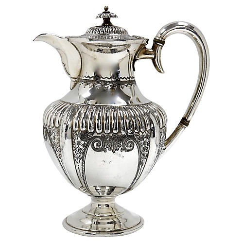Antique English Victorian Coffee Pot