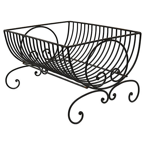 Antique French Dish Drying Rack