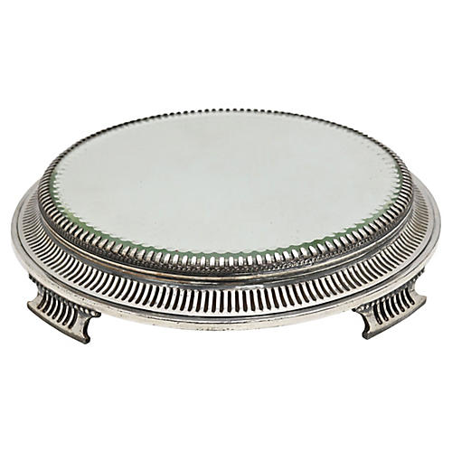 Pairpoint Art Deco Mirrored Stand