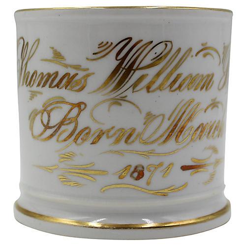 Thomas William Battey March 1871 Mug