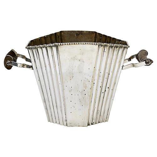 Art Deco Horn Handled Champagne Bucket