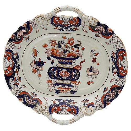 Antique Mason's Ironstone Serving Plate