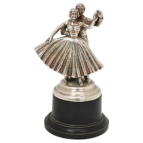 Mid-Century Ballroom Dance Trophy