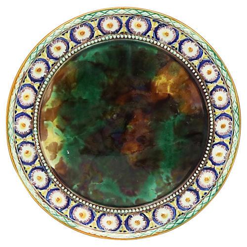 Antique Wedgwood Majolica Plate