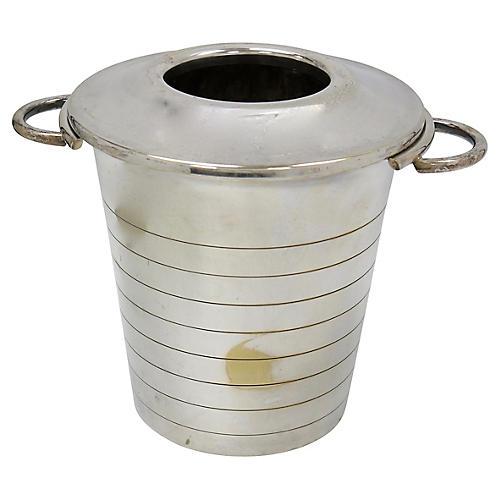 Art Deco Silver-Plate Champagne Bucket