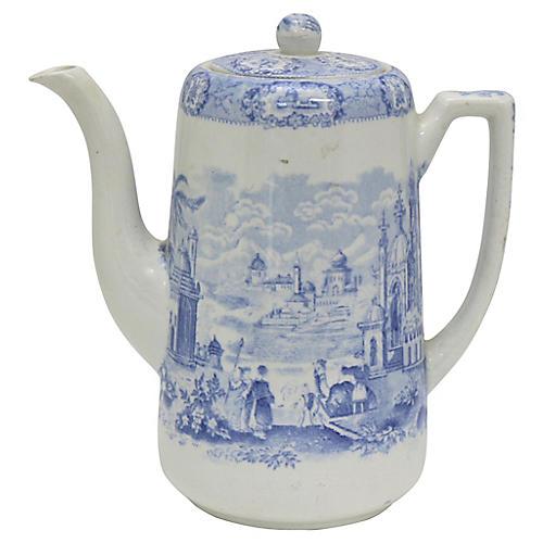 English Ridgway's Oriental Coffeepot