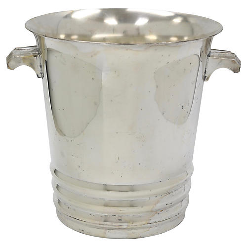 French Art Deco Style Champagne Bucket