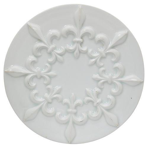 Mid-Century French Fleur De Lis Trivet