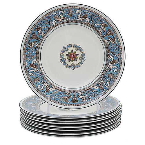 Wedgwood Florentine Salad Plates, S/8
