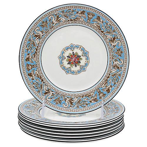Wedgwood Florentine Dessert Plates, S/8