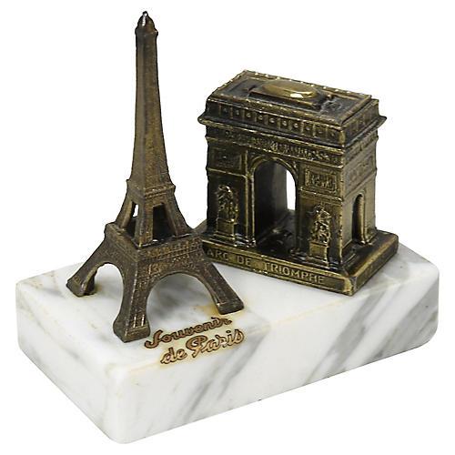 Paris Souvenir Eiffel Tower Paperweight