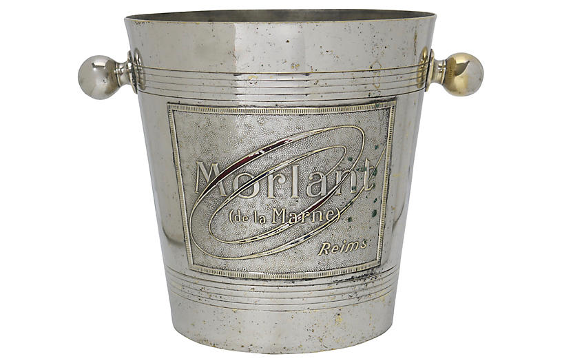 French Reims Morlant Champagne Bucket