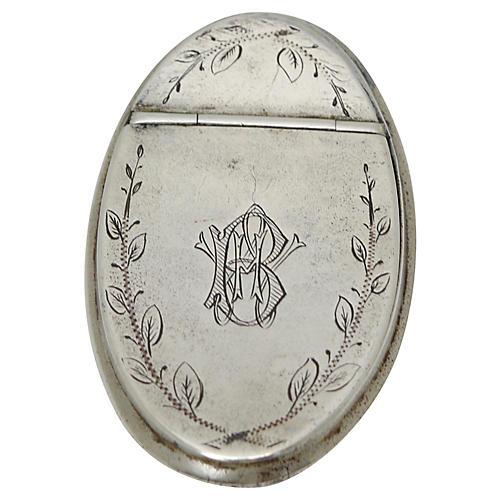 English Georgian Snuff Box, C. 1780