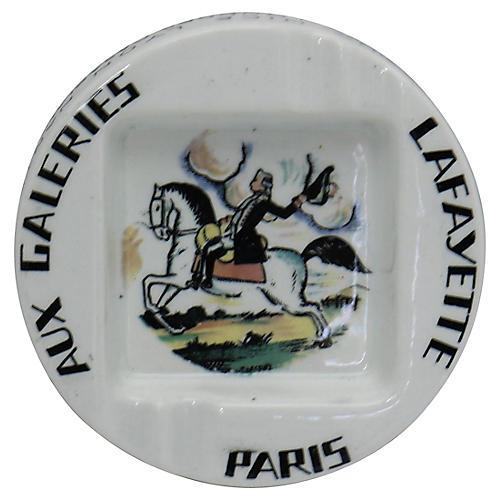 Galleries Lafayette Paris Ashtray