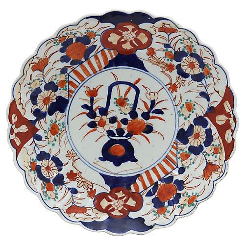 Antique Japanese Imari Charger