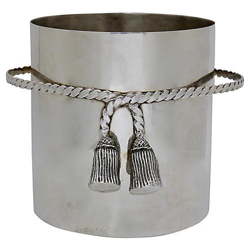 Midcentury Tassel Champagne Bucket