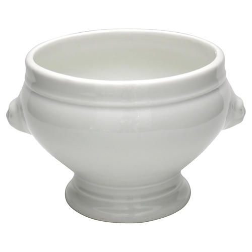 French Porcelain Serving Bowl