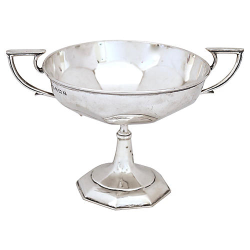 1916 English Sterling Blank Trophy