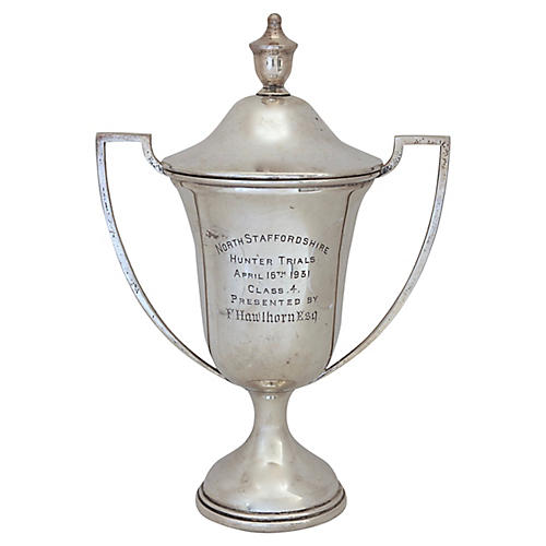 English Sterling Hunting Trophy, D.1931