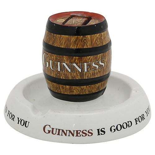 1920s Mintons Guinness Beer Match Holder