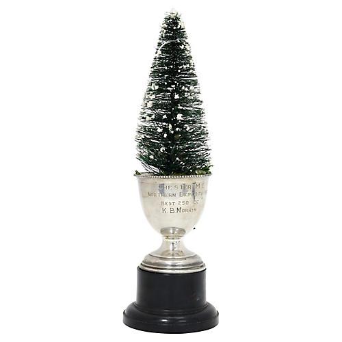 Christmas Tree in 1946 Motorcycle Trophy