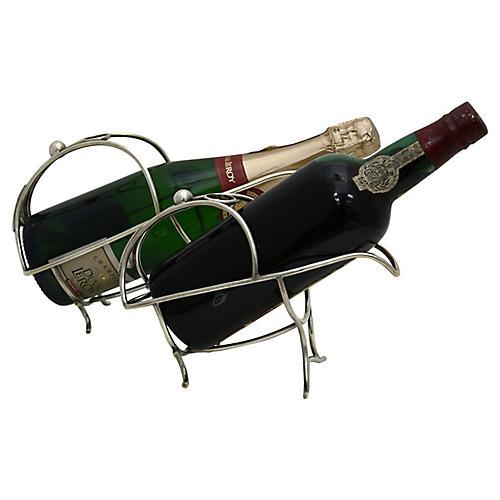 Mappin & Webb Wine Caddies, S/2