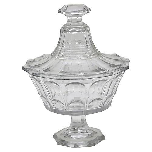 1920s French Absinthe Sugar Cube Bowl