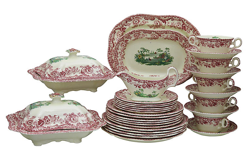 Copeland Spode Dinner Set, 30Pcs