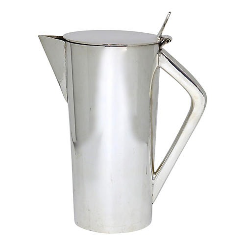 Art Deco Hotelware Cocktail Pitcher